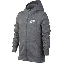 Boys 8-20 Nike Club Fleece Full-Zip Hoodie
