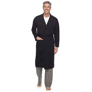 Men's Croft & Barrow® True Comfort Lightweight Knit Robe