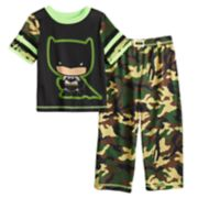 Toddler Boy DC Comics Batman Camo Top & Bottoms Pajama Set