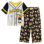 Toddler Boy Daniel Tiger Baseball Top & Bottoms Pajama Set
