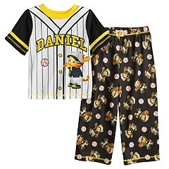 Toddler Boy Daniel Tiger Baseball Top & Bottoms Pajama Set