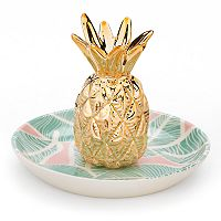 LC Lauren Conrad Pineapple Ring Holder Trinket Tray