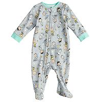 Baby Peanuts Charlie Brown, Lucy, Snoopy & Linus Printed Sleep & Play