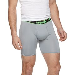 Men's Champion 3-pack Active Long-Leg Performance Boxer Briefs