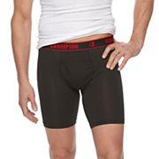 Men's Champion Vapor 3-pack Stretch Long-Leg Boxer Briefs