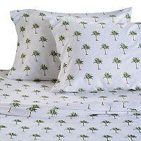 Panama Jack Palm Tree 300 Thread Count Sheet Set