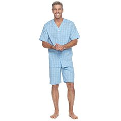 Men's Croft & Barrow® True Comfort Stretch Woven Pajama Set