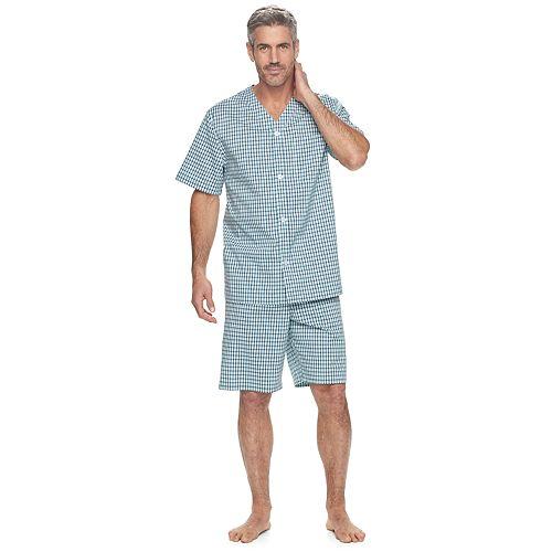 Men's Croft & Barrow® True Comfort Stretch Woven Pajama Set