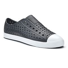 Men's Perforated Slip-On Shoes