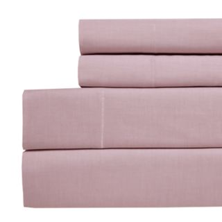Westport Home Yarn Dyed Chambray 200 Thread Count Sheet Set