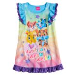 Toddler Girl Hatchimals Ruffled Nightgown