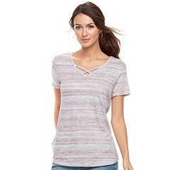 Women's SONOMA Goods for Life™ Crisscross Tee