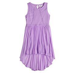 Disney Princess Girls 7-16 Point Spirit Paneled Gauze Dress