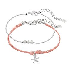 LC Lauren Conrad Starfish Friendship Bracelet Set