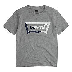 Boys 4-7 Levi's® Two-Tone Batwing Logo Graphic Tee