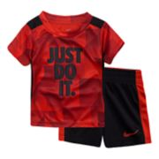 "Baby Boy Nike ""Just Do It"" Legacy Tee & Shorts Set"