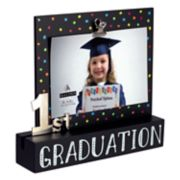 "Malden First Graduation Photo-Clip 4"" x 6"" Frame"