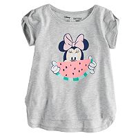 Disney's Minnie Mouse Baby Girl Watermelon Softest Graphic Tee by Jumping Beans®