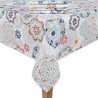 Food Network™ Medallion Tablecloth & Napkin Set