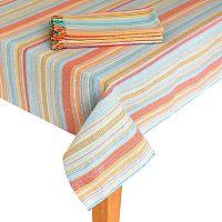 Food Network™ Striped Tablecloth & Napkin Set