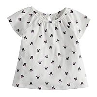 Disney's Minnie Mouse Baby Girl Shirred Top by Jumping Beans®