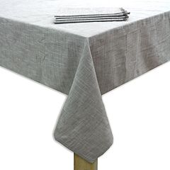 Food Network™ Linen Tablecloth & 4-pack Napkin Set
