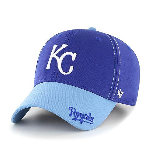 Youth '47 Brand Kansas City Royals Cross Stack MVP Hat