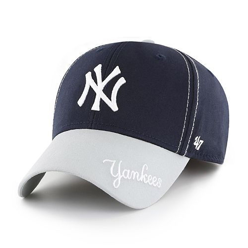 067a06cca6448 Youth  47 Brand New York Yankees Cross Stack MVP Hat