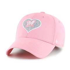 Girls' '47 Brand Milwaukee Brewers MVP Rose Hat