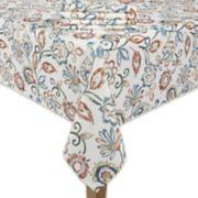 Food Network? Paisley Tablecloth & Napkin Set