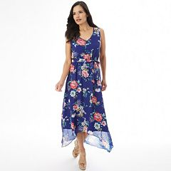 Women's Apt. 9® Smocked High-Low Maxi Dress