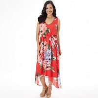 Women's Apt. 9® Smocked High-Low Maxi Dress