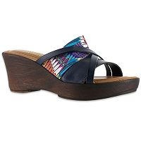 Tuscany by Easy Street Lucette Women's Wedge Sandals
