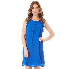 Women's Apt. 9® Ruffle Gauze Shift Dress