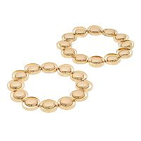 Circle Link Stretch Bracelet Set