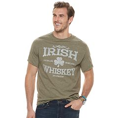 Big & Tall SONOMA Goods for Life™ 'Irish Whiskey' Graphic Tee