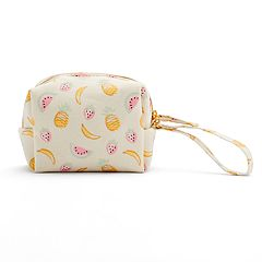 LC Lauren Conrad Sweet Summer Fruits Canvas Travel Rescue Kit