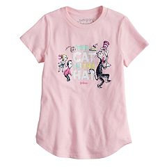 Girls 4-6x Jumping Beans® Dr. Seuss 'The Cat In The Hat' Foiled Graphic Tee
