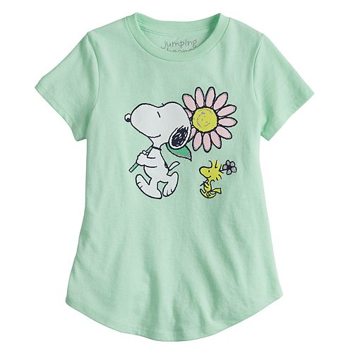 Girls 4-6x Jumping Beans® Snoopy Graphic Tee