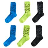 Boys adidas Tiger 6-Pack Crew Socks