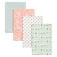 Trend Lab 4-pk. Southwest Patterned Flannel Swaddle Blankets