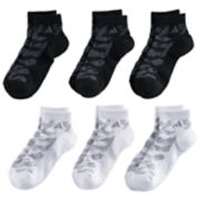 Boys adidas Tiger 6-Pack Quarter-Crew Socks