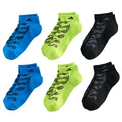 Boys adidas Tiger 6-Pack Low-Cut Socks