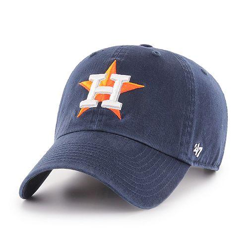4132f8d96070a Men s  47 Brand Houston Astros Clean Up Cap