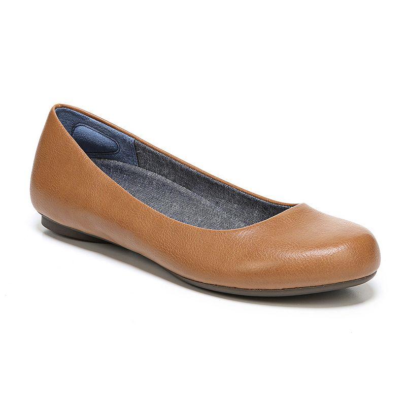 9b5cfa47c571 Dr. Scholl's Friendly 2 Women's Ballet Flats, Size: 11 Wide, Dark Beige