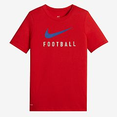 Boys 8-20 Nike Swoosh Football Dri-FIT Tee