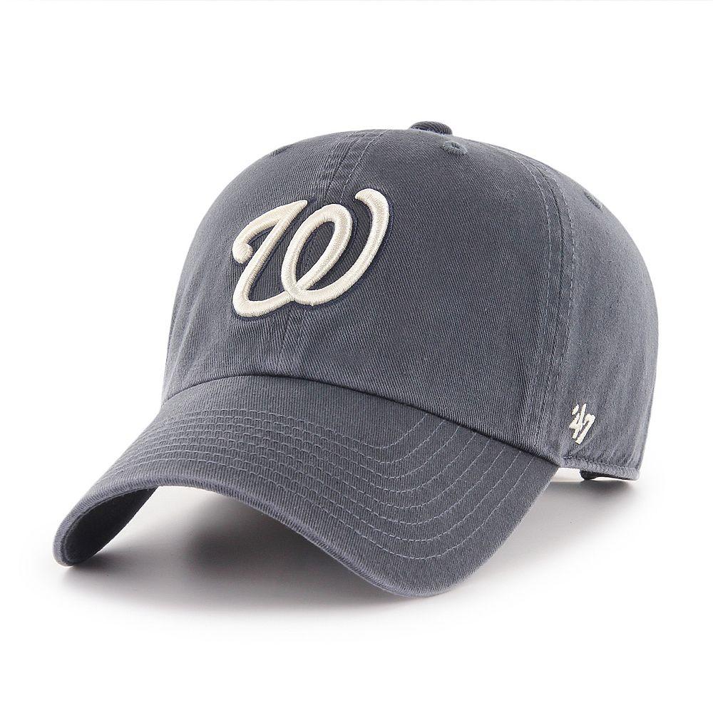 Adult '47 Brand Washington Nationals Clean Up Hat