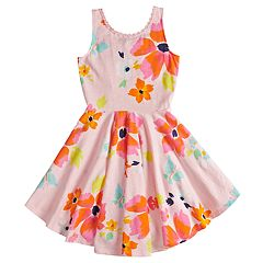 Girls 4-12 SONOMA Goods for Life™ Tie Back High-Low Dress