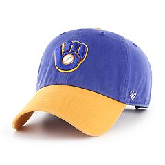 Men's '47 Brand Milwaukee Brewers Two-Toned Clean Up Hat