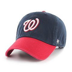 Men's '47 Brand Washington Nationals Two-Toned Clean Up Hat